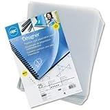 GBC Designer Premium Plus View Presentation Binding Covers, Rounded Corners, Deco Cube, 25 Pieces Per Box (25830)