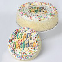 Vanilla Birthday Cake 7
