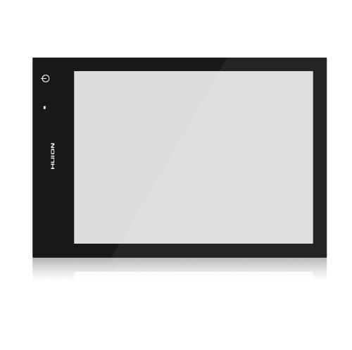 Huion Rechargeable Lithium Battery 8Mm Ultra-Thin Light Panel Touch Adjustable Illumination Usb Led Light Pad (Lb4)