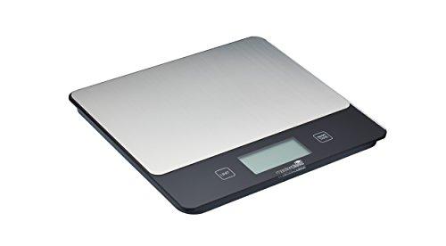 Master Class 5 kg Balance de cuisine digitale en acier inoxydable Argenté
