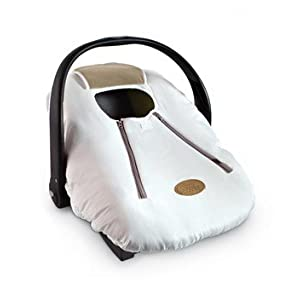Cozy Cover Infant Car Carrier Cover (Alpine White)