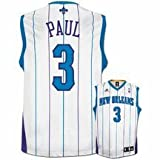 Chris Paul Jersey: adidas White Replica #3 New Orleans Hornets Jersey