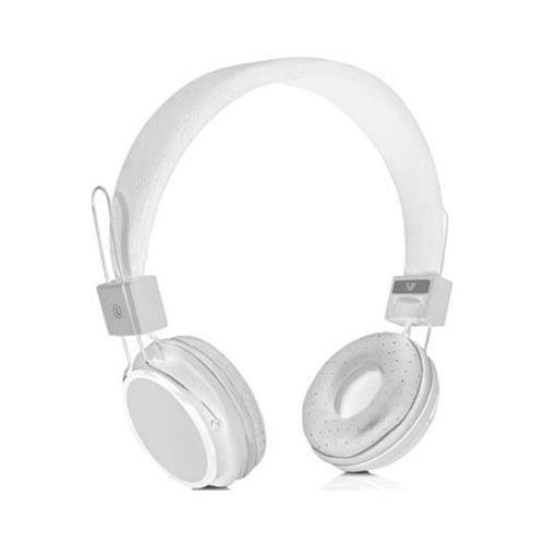 V7 Hs2000-35-Wht-9Nc Lightweight Stereo Headset Stereo - White - Mini-Phone - Wired - 2.2 Kilo Ohm - 20 Hz - 20 Khz - Over-The-Head - Binaural - Circumaural - 4 Ft Cable - Omni-Directional Microphone
