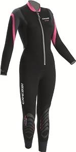Buy Cressi Bahia 2.5mm Ladies Front Zip Premium Neoprene Full Wetsuit by Cressi