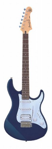 Yamaha PAC012 Pacifica Series Double Cutaway Electric Guitar - Blue