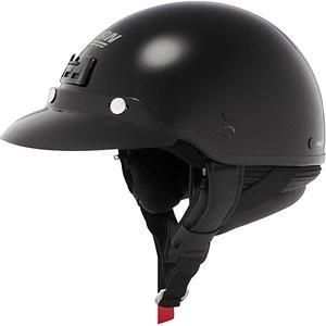 Nolan Cruise Metallic Half Helmet - X-Small/Metallic Black