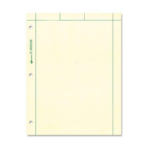 national-brand-computation-pad-plain-5-x-5-quad-on-back-green-paper-85-x-11-200-sheets-42389