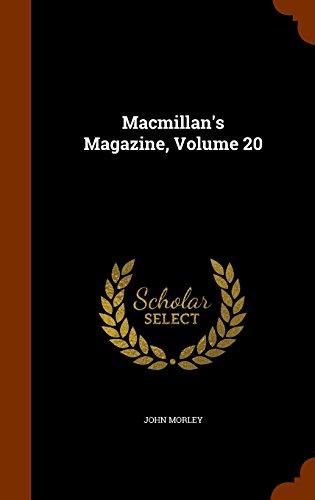 Macmillan's Magazine, Volume 20
