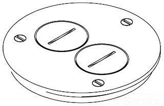 S Round Electrical Box Cover