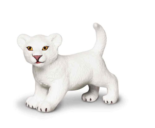 Safari Ltd Wild Safari Wildlife White Lion Cub - 1