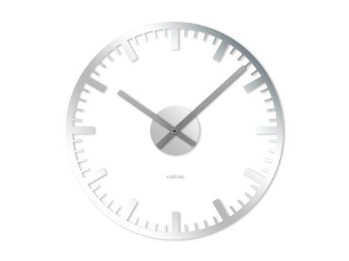 karlsson wall clock transparent
