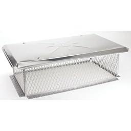 Gelco 3/4 inch mesh Chimney Cap 8H x 20W x24L