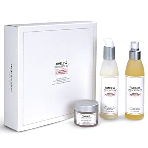 Timeless Prescription Anti-Aging Essentials 3-Piece Kit-Facial Exfoliating Cleanser, MDI Firming Activator and Face Firming Moisturizer