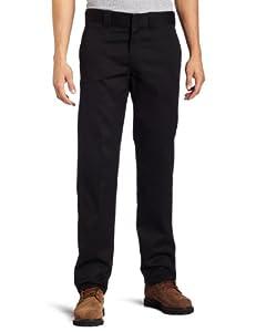 Dickies Herren Hose S/stght Work Pants, Black, 29/30, WP873