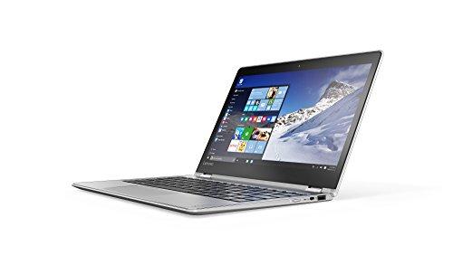 Lenovo YOGA 710 29,46 cm (11,6 Zoll Full HD IPS) Slim Convertible Notebook (Intel Core m5-6Y54, 2,7GHz, 8GB RAM, 256GB SSD, Intel HD Grafik 515, Touchscreen, Windows 10) silber