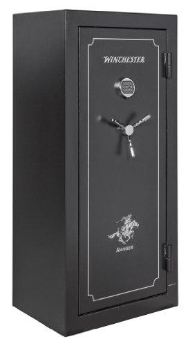 Black Gun Safe In Living Room Decor: Buy Winchester Ranger 19-7 Gun Safe, 24 Gun Capacity (Black