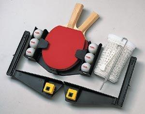 Kettler Tischtennisgarnitur mit Netz und Schläger vario 7093-100