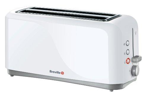 Breville VTT223 4 Slice Plastic Toaster White by Breville