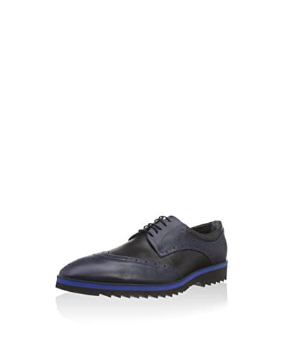 Hemsted & Sons Zapatos derby M0156 Azul Oscuro / Negro EU 46