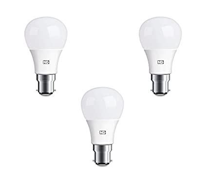 8W LED Bulb Cool White (Set Of 3)