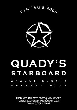 2006 Quady Starboard Vintage Red 750 Ml