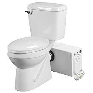 Bathroom Anywhere 38758 Macerating Toilet System, Includes ...