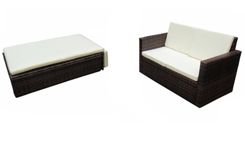 verkauf billig poly rattan garten garnitur m bel essgruppe lounge sofa stuhl sessel vidaxl at. Black Bedroom Furniture Sets. Home Design Ideas
