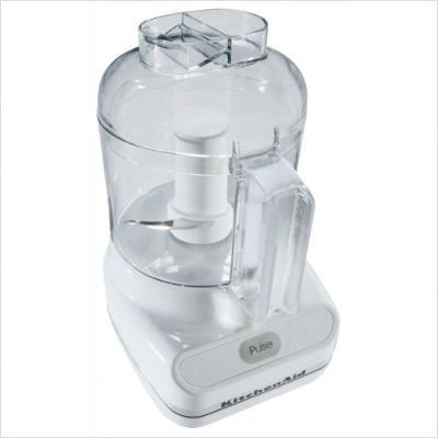 KitchenAid KFC3100WH 3-Cup 240 Watt Food Processor