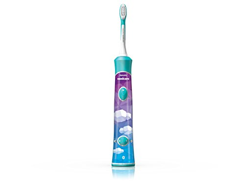 Philips Sonicare for Kids Connected Sonic Electric Rechargeable Toothbrush, HX6321/0