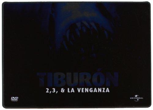 Trilogía Tiburón (Edición metálica) [DVD]