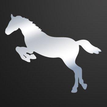 Horse... Chrome Mirror (07 X 5.7 inch) KR333