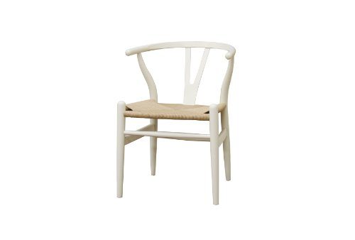 White Wood Chair front-1076720