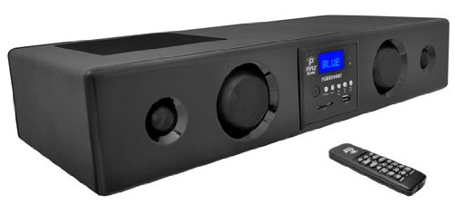 Pyle Psbv200Bt 300 Watt Bluetooth Soundbar With Usb/Sd/Fm Radio And Wireless Remote