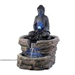 Eastwind Gifts d1156 Zen Buddha Fountain