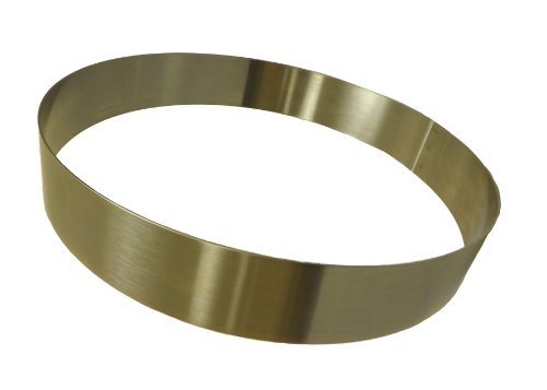 Allied Metal Spinning Corporation Allied Metal CRS834 Stainless Steel Cake Ring with Smooth Deburred Edge 8 by 3/4-Inch at Sears.com