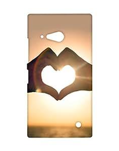 Crackndeal Back Cover for Nokia Lumia 730