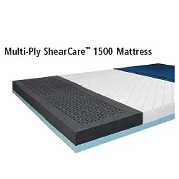 "Multi-Ply ShearCare 1500 Mattress - 60"" x 80"" x 7"", Capacity 1,000 lbs."