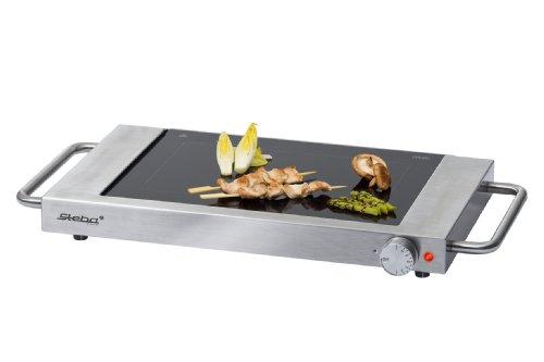 steba gp 3 edelstahl glasgrill schott ceran schnell gesund raclette grill tests. Black Bedroom Furniture Sets. Home Design Ideas