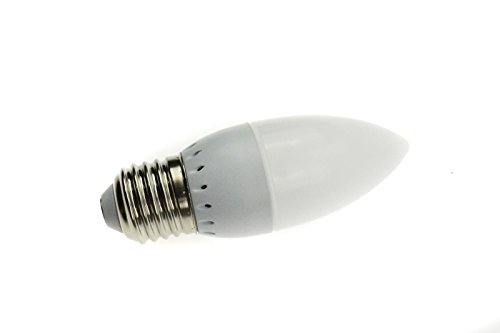 10 Pcs E27 3W Led Chandelier Candle Light Bulb Lamp 2835 Smd Warm White