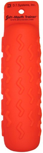 D.T. Systems Soft Mouth Large 3-Inch by 12-Inch Dog Training Dummy Kit, Blaze Orange with Pheasant Scent