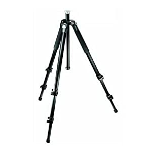 Manfrotto 190CXV3 3 Section View Carbon Fiber Tripod with Leg Warmers (Black)