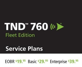 TND 760 Service Plan Options