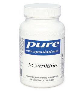 L-Carnitine 60C By Pure Encapsulations