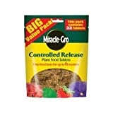 Miracle-Gro Controlled Release Plant Food Tablets 33 Tablets