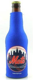 MLB New York Mets Royal Blue 12-oz Bottle Koozie