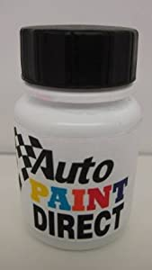 PEUGEOT VAPOUR GREY Year = 08- Colour Code = EVG Touch Up Stone Chip Paint Bottle / Pen With Brush by wlw