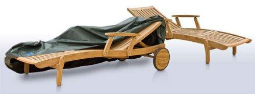 Eigbrecht 146256 Wood Cover Abdeckhaube Schutzhülle für Sonnenliege grün 200x70x56/40cm online kaufen