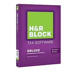 H&R Block 2015 Deluxe + State