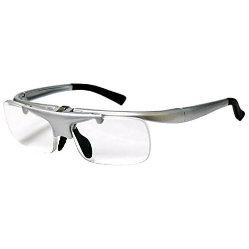 デューク 跳ね上げ老眼鏡 HANEage +2.0度数 シルバー DR-003-2+2.00