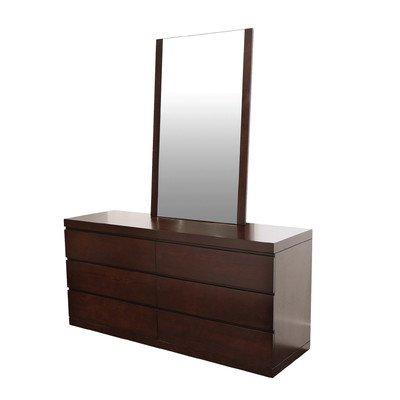 White Mirrored Dresser